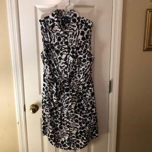 Women's Moda International Sleeveless Dress Sz 8